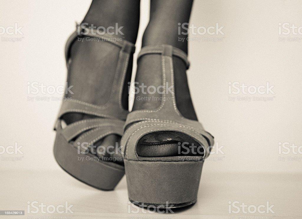 Sexy Feet stock photo