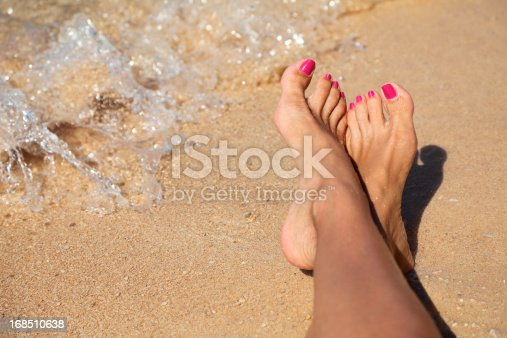 istock Sexy feet 168510638