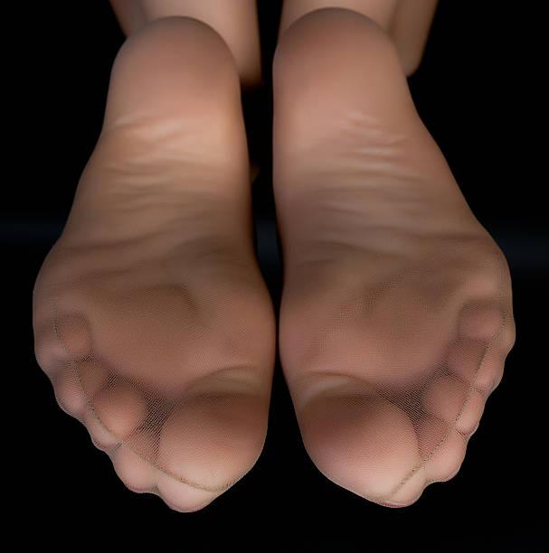 Nylon covered feet