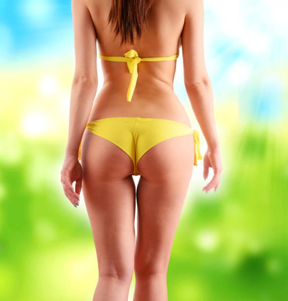 sexy frauenkörper. gewicht-verlust - damen sporthose übergröße stock-fotos und bilder