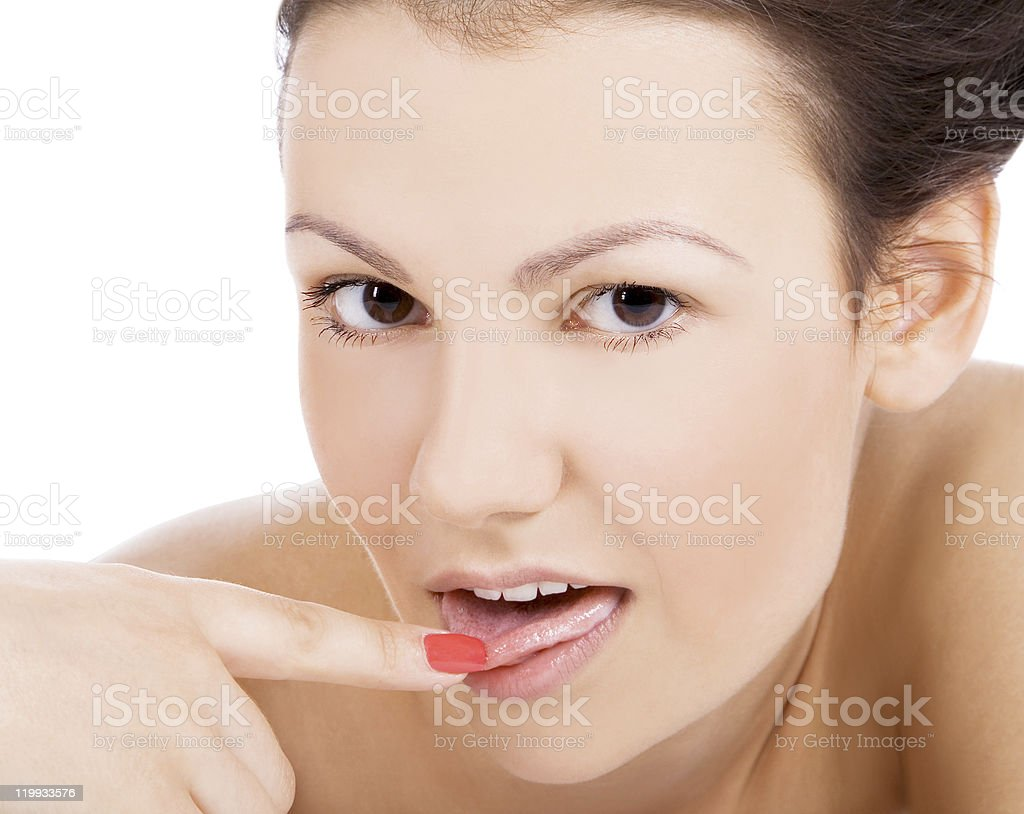 Сексуальное выражение лица