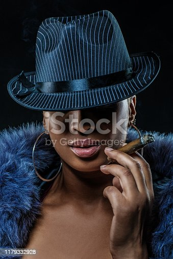 Sexy Female Gangster woman