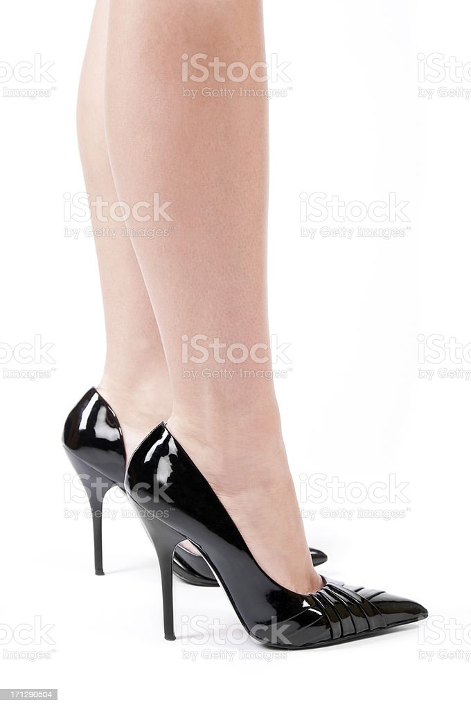 Shiny heel sex