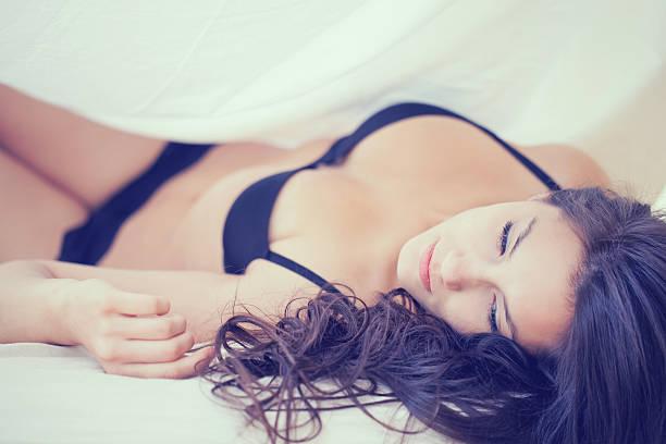 Sexy female Model stock photo
