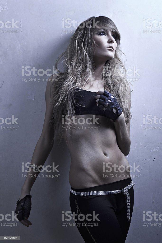 sexy female royalty-free stock photo