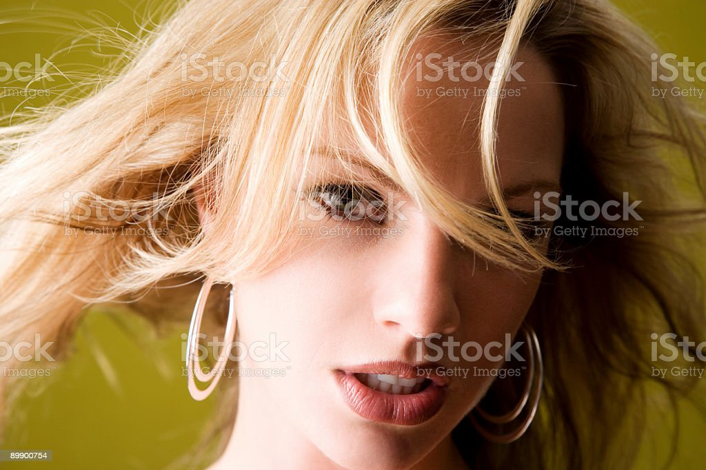 Sexy Female Portrait royalty-free stock photo