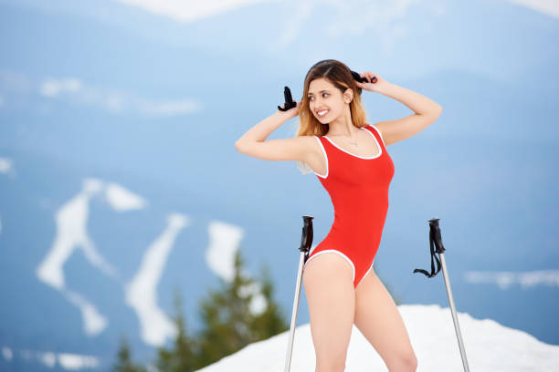 Best Nude Snow Skiing Stock Photos, Pictures  Royalty-Free Images - Istock-3818
