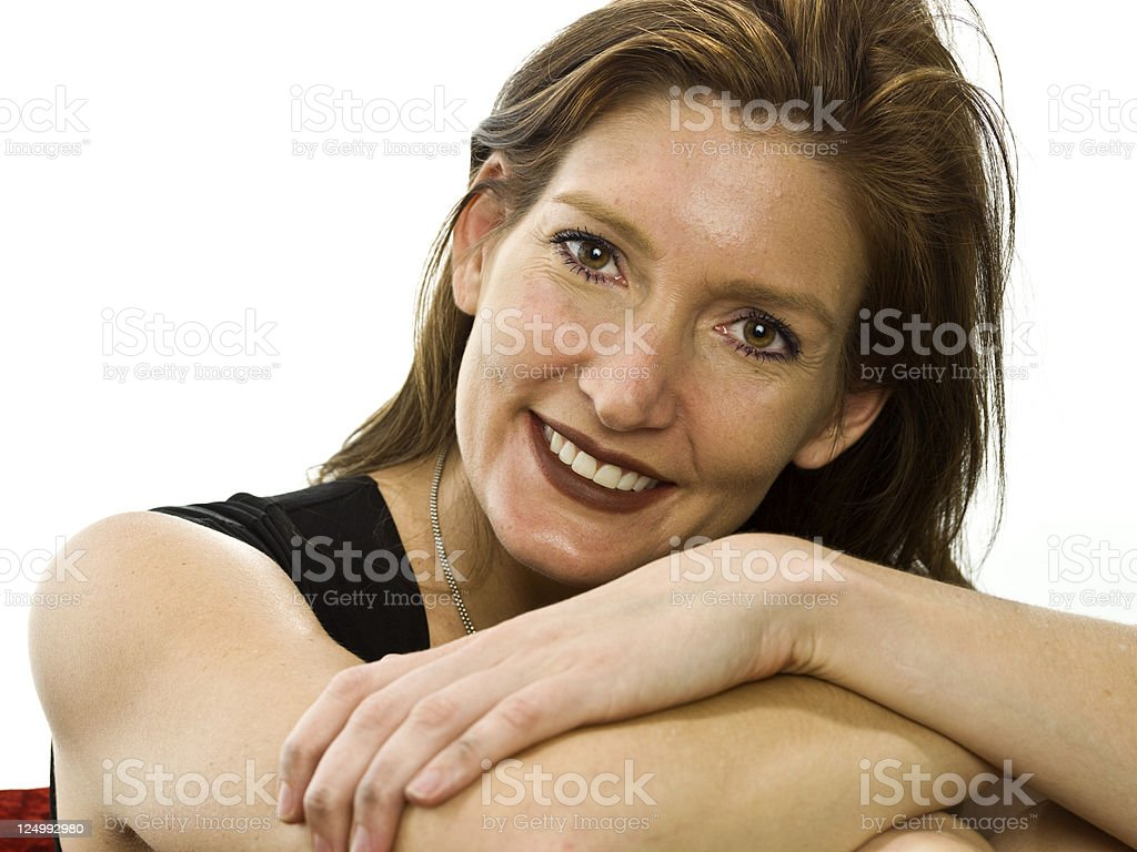 Sexy forties royalty-free stock photo