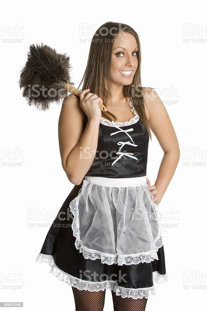 Sexy French Maid royalty-free stock photo