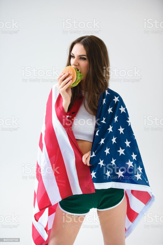 Usa sexy girl pic