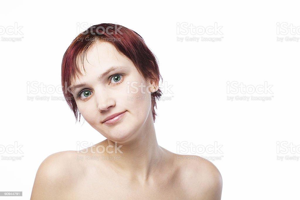 sexy girl royalty-free stock photo