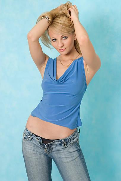 Sexy girl. stock photo