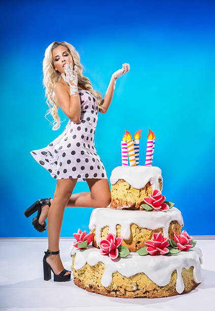Wondrous Sexy Birthday Cakes Stock Photos Pictures Royalty Free Images Funny Birthday Cards Online Elaedamsfinfo