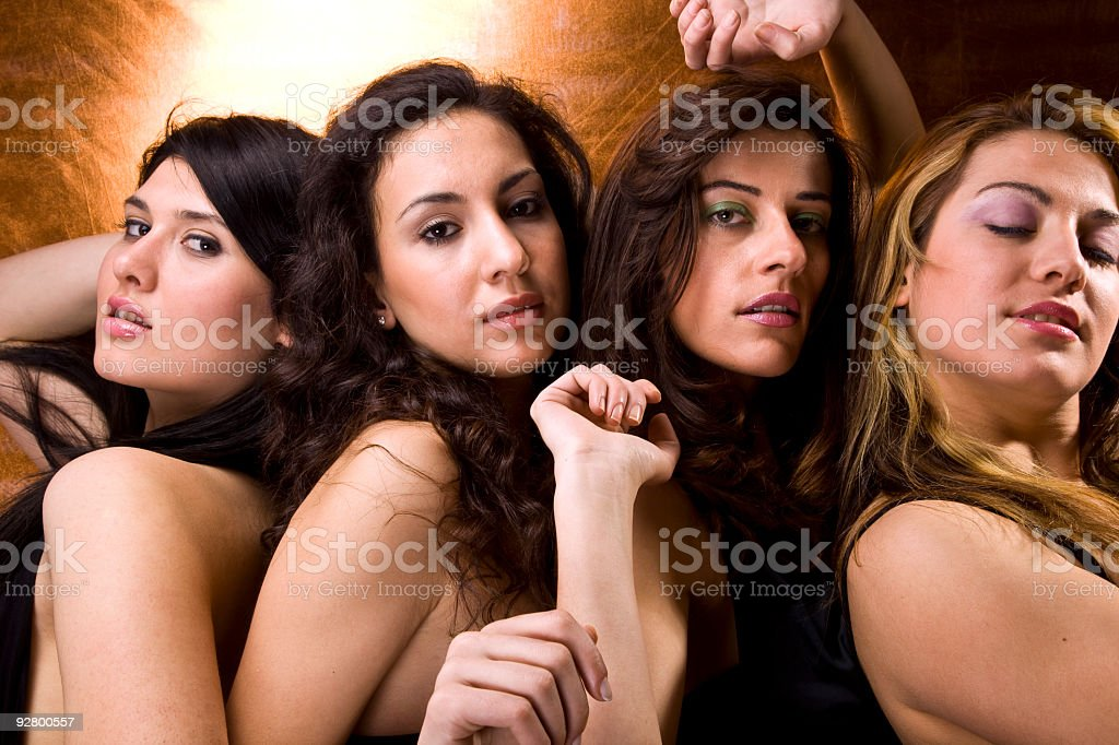 sexy girls royalty-free stock photo