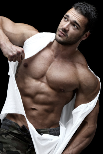 Sexy Male Model Stock Photo - Download Image Now - iStock