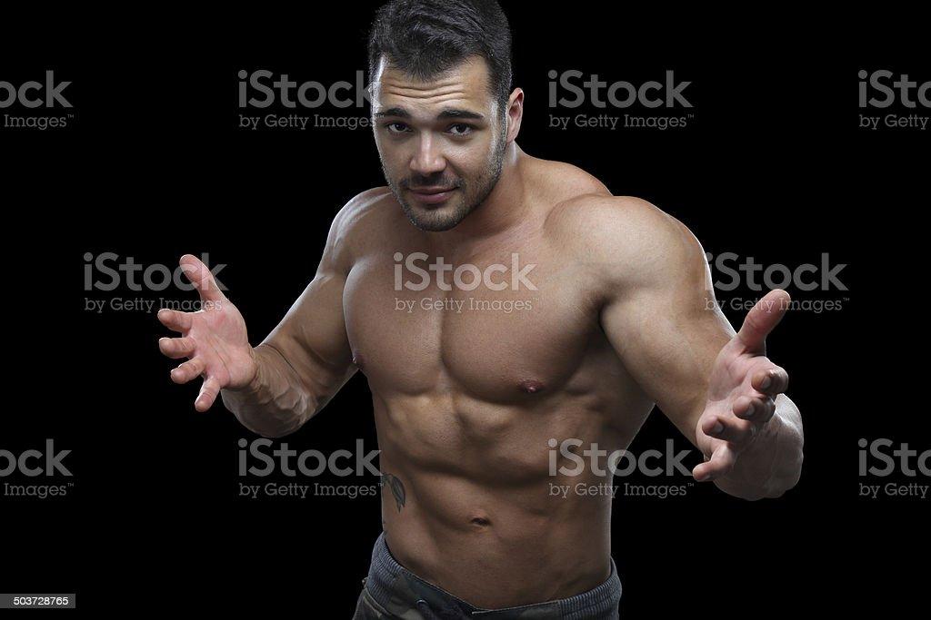 Sexy guy royalty-free stock photo