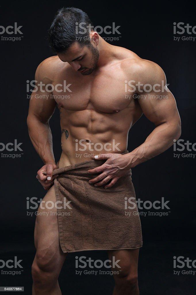 Seksowny facet – zdjęcie