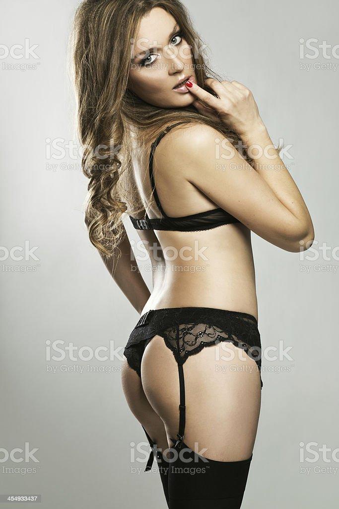 uk availability a8171 beb84 Sexy Heiße Frau In Dessous Stockfoto und mehr Bilder von ...