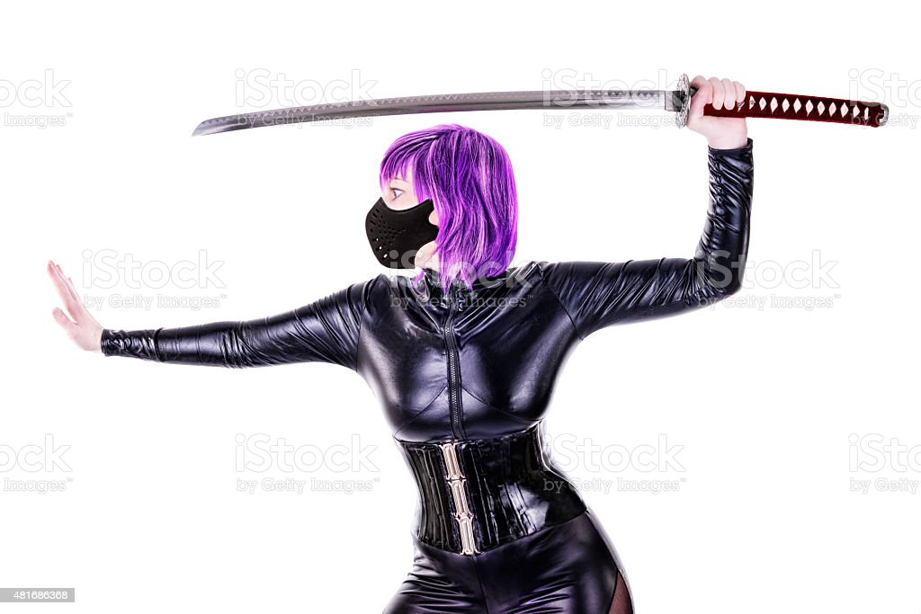 Sexy killer stock photo