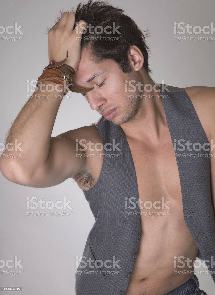 Sexy Latin American Male royalty-free stock photo