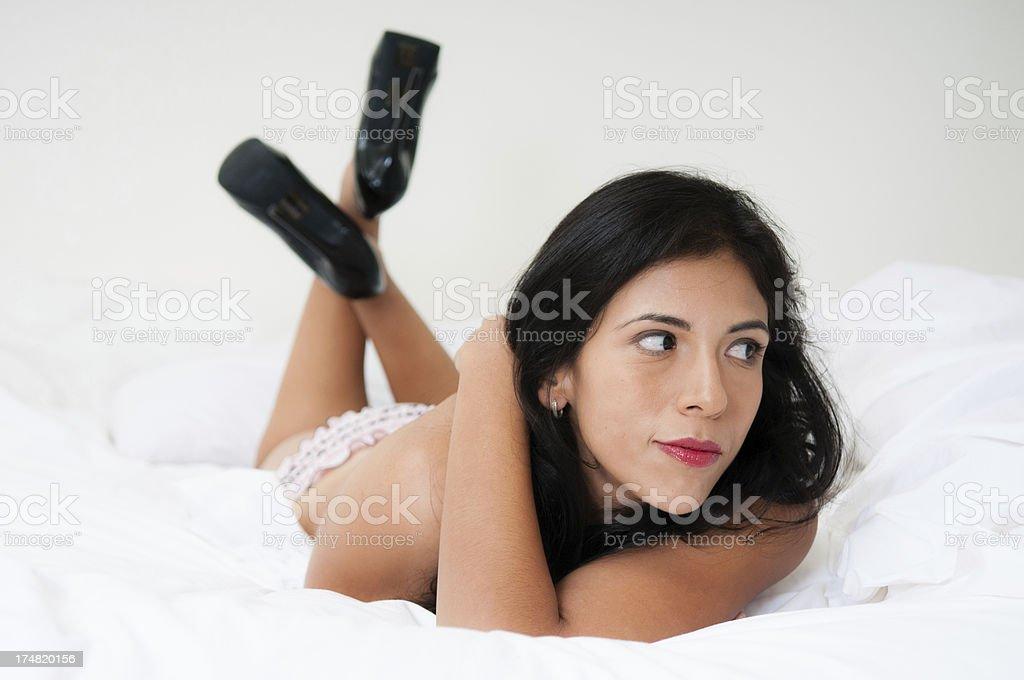 Sexy Latino Woman royalty-free stock photo