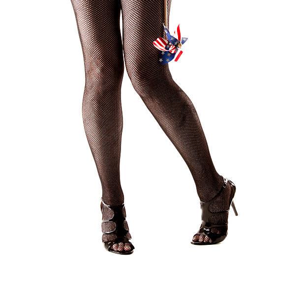 thighs stockings pantyhose Plump mature