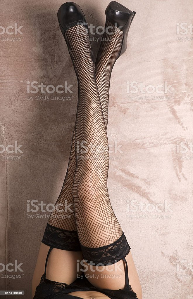 sexy legs of woman stock photo