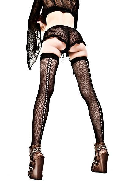 sexy beine - schlanke waden stock-fotos und bilder