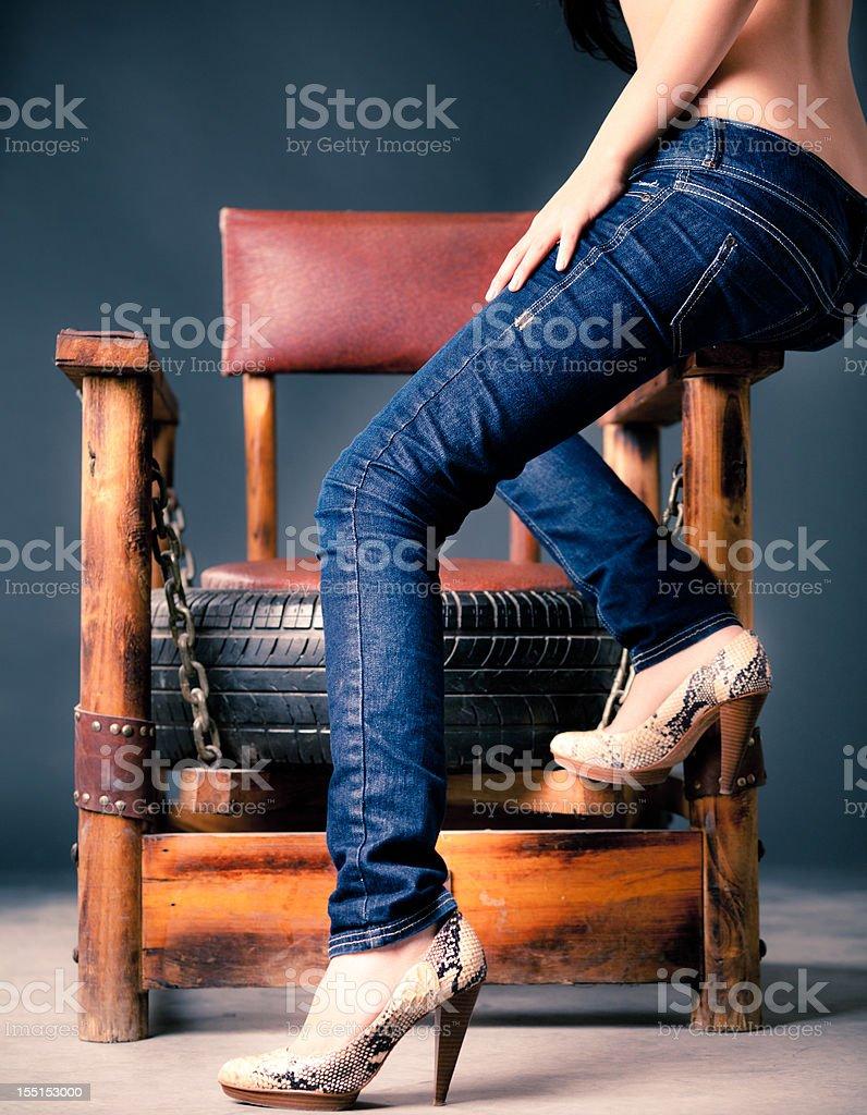 Sexy legs royalty-free stock photo