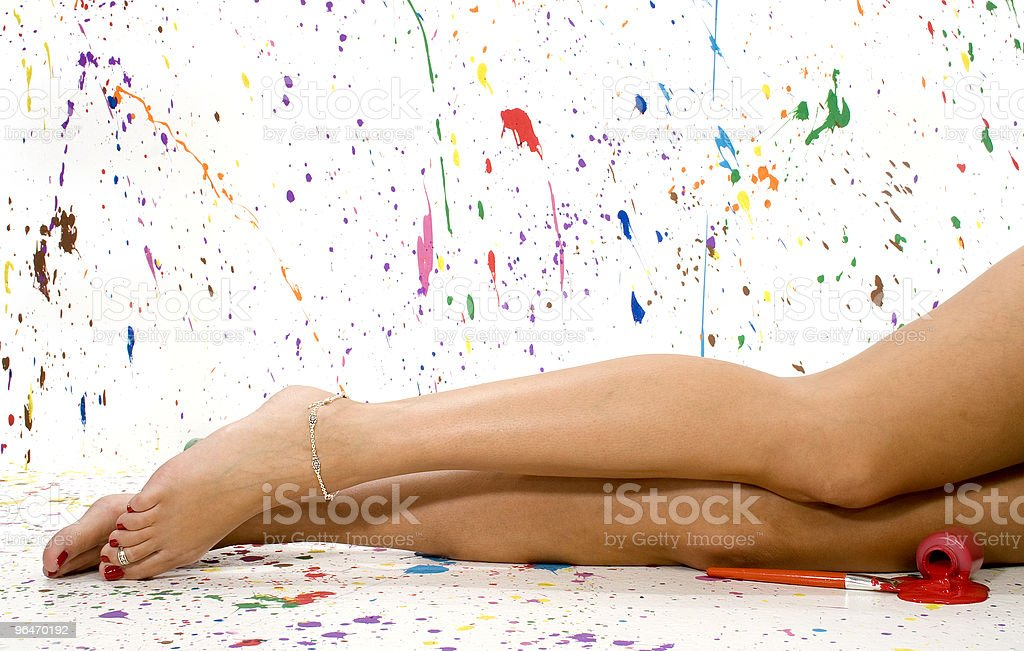 Sexy Legs royalty-free stock photo