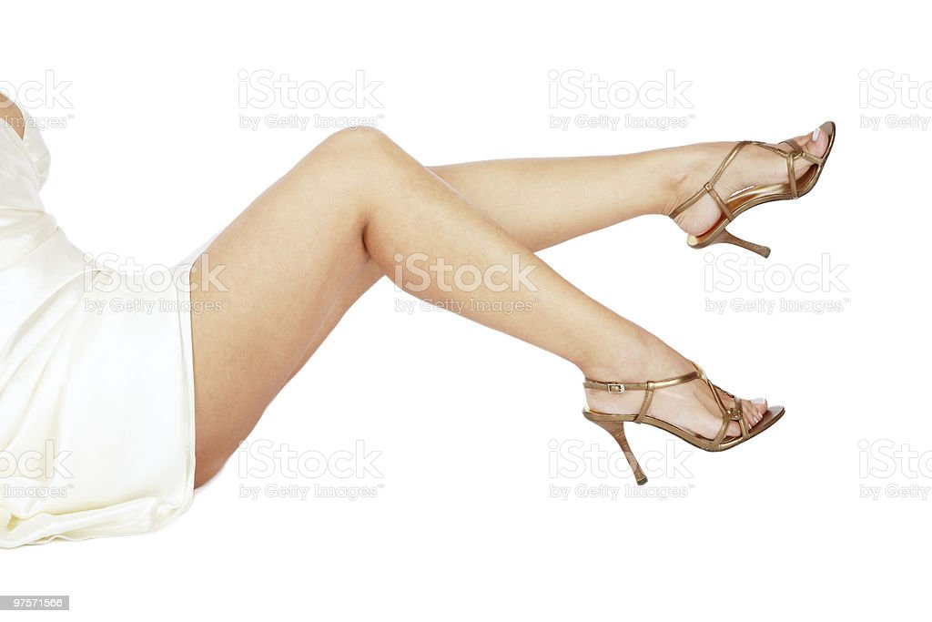 Sexy jambes photo libre de droits