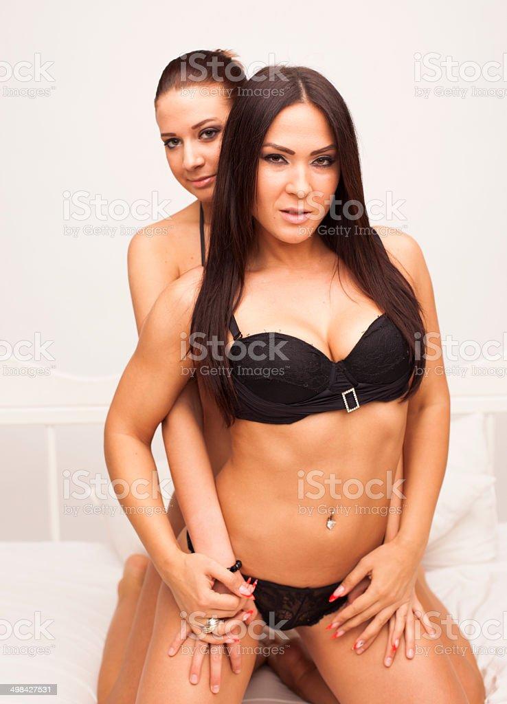 Heiße sexy Lesbains