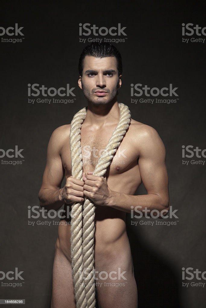 sexy man royalty-free stock photo