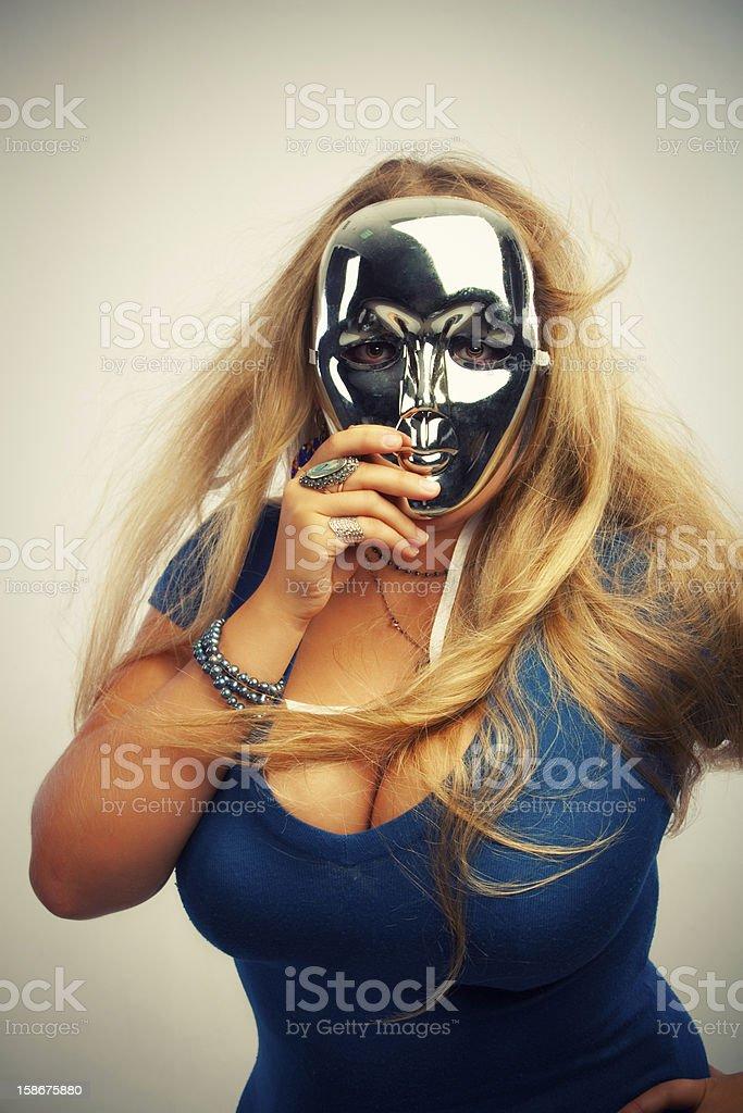 Sexy mask stock photo