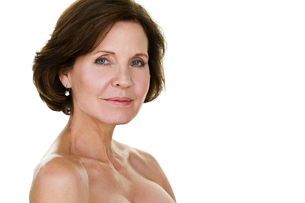 sexy mujer madura - desnudos fotografías e imágenes de stock