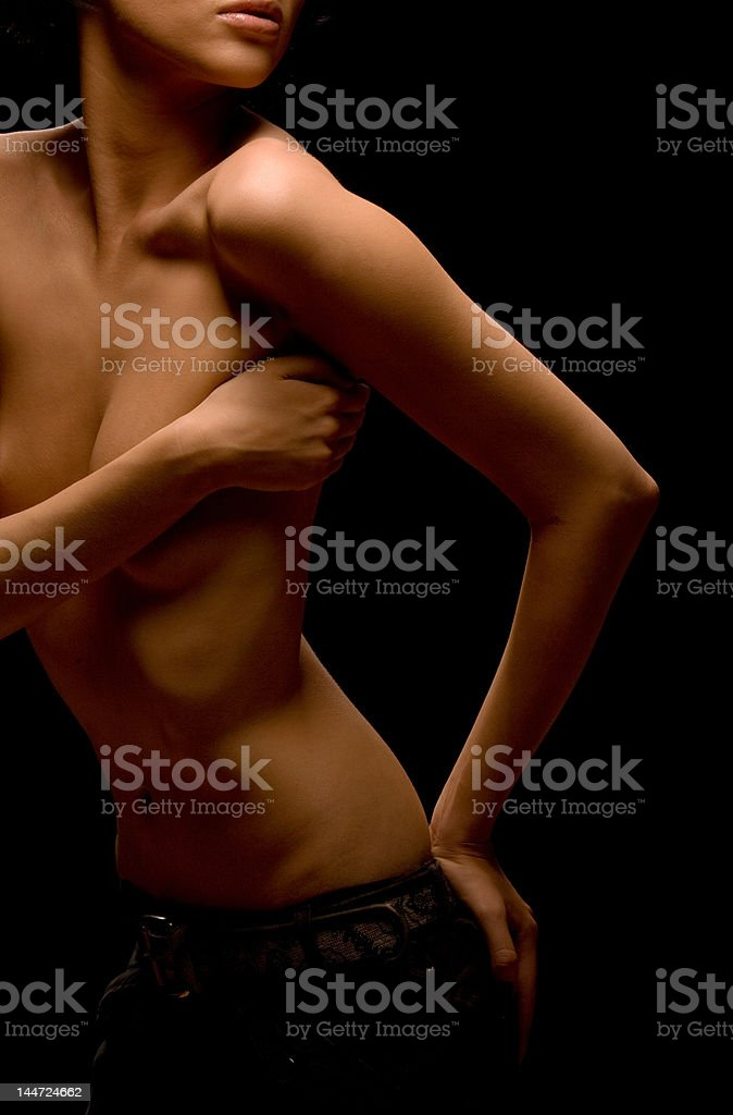 Sexy model 1 royalty-free stock photo
