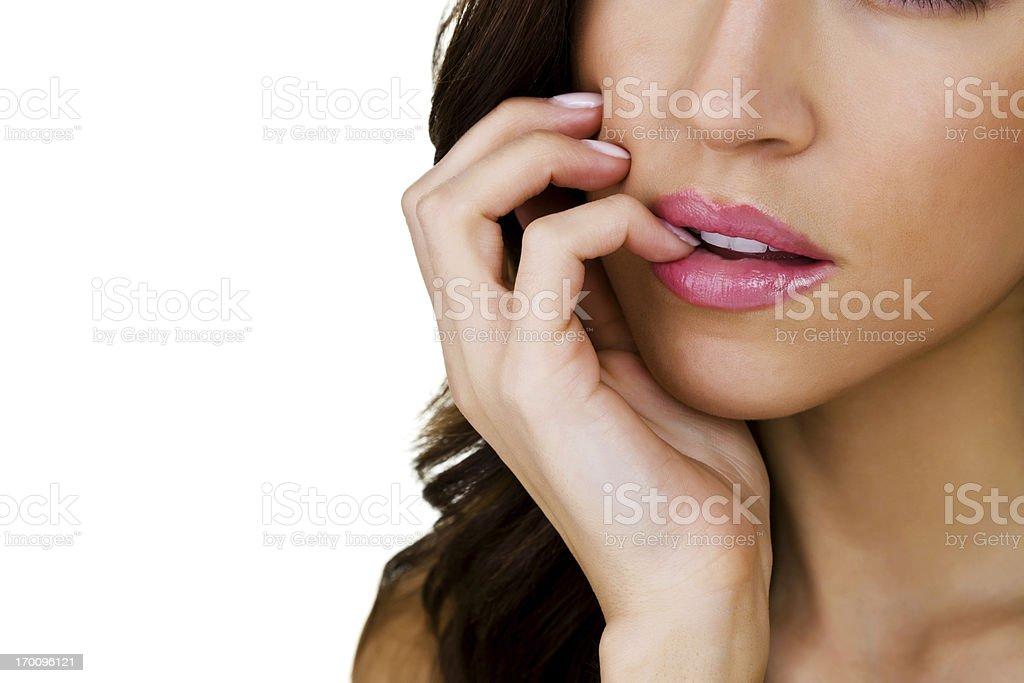 Sexy Mouth stock photo