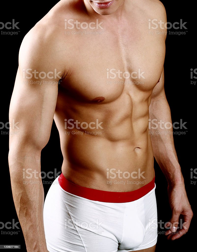 Sexy Muscle royalty-free stock photo