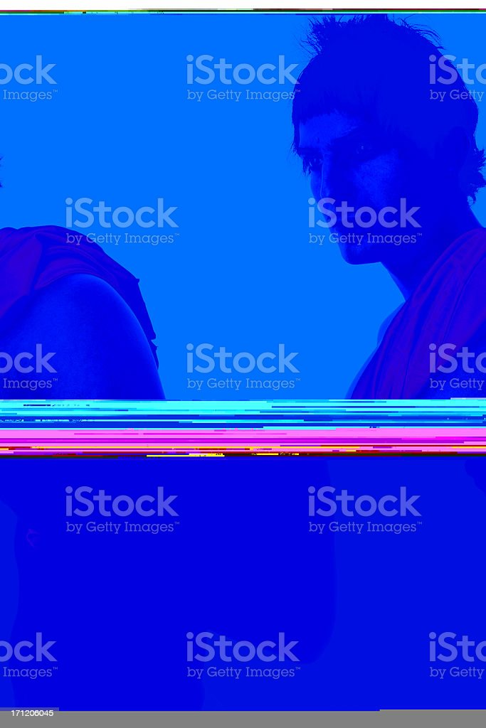 Sexy Pectoral royalty-free stock photo