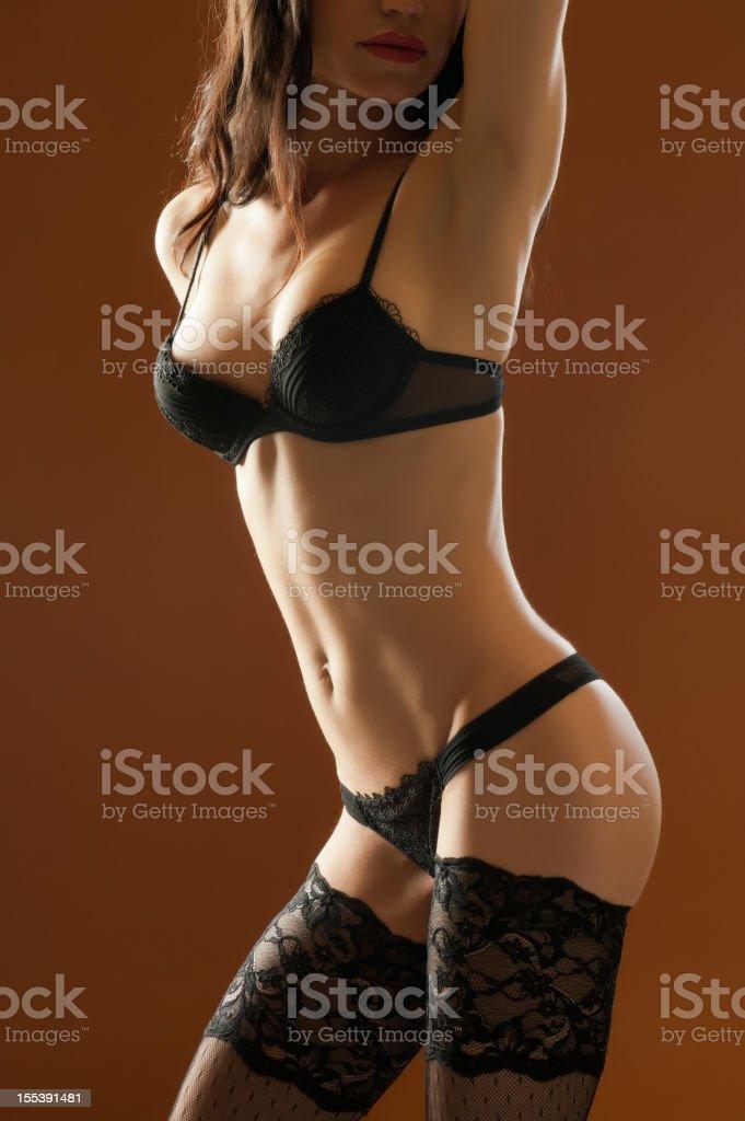 Sexy photomodel royalty-free stock photo