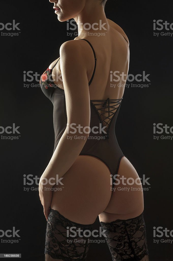 Sexy photomodel royalty-free stock photo