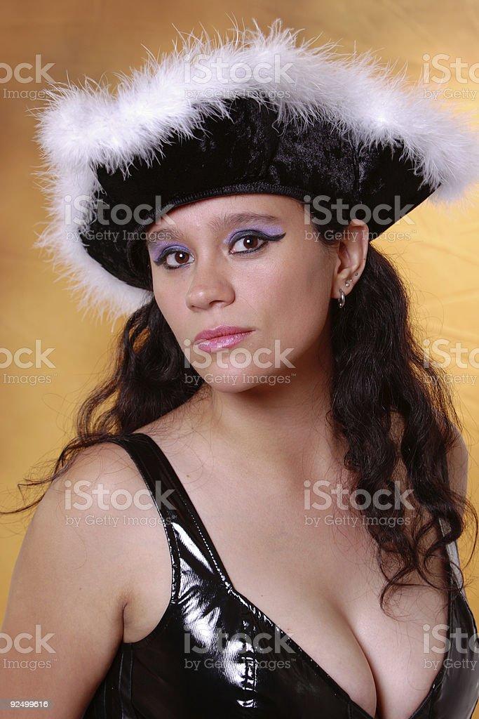 Sexy Pirate royalty-free stock photo