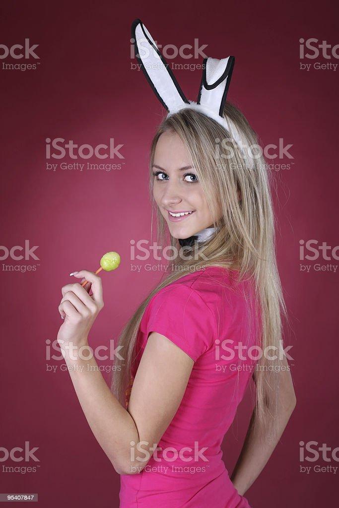 Sexy playboy Mädchen Lizenzfreies stock-foto