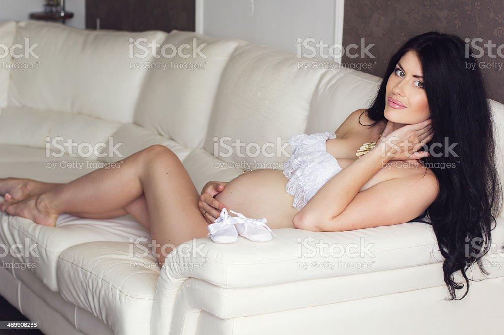 Schwangeres sexy Bild