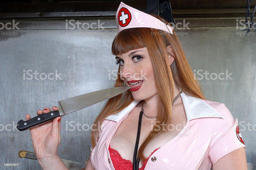 Sexy Redhead Nurse