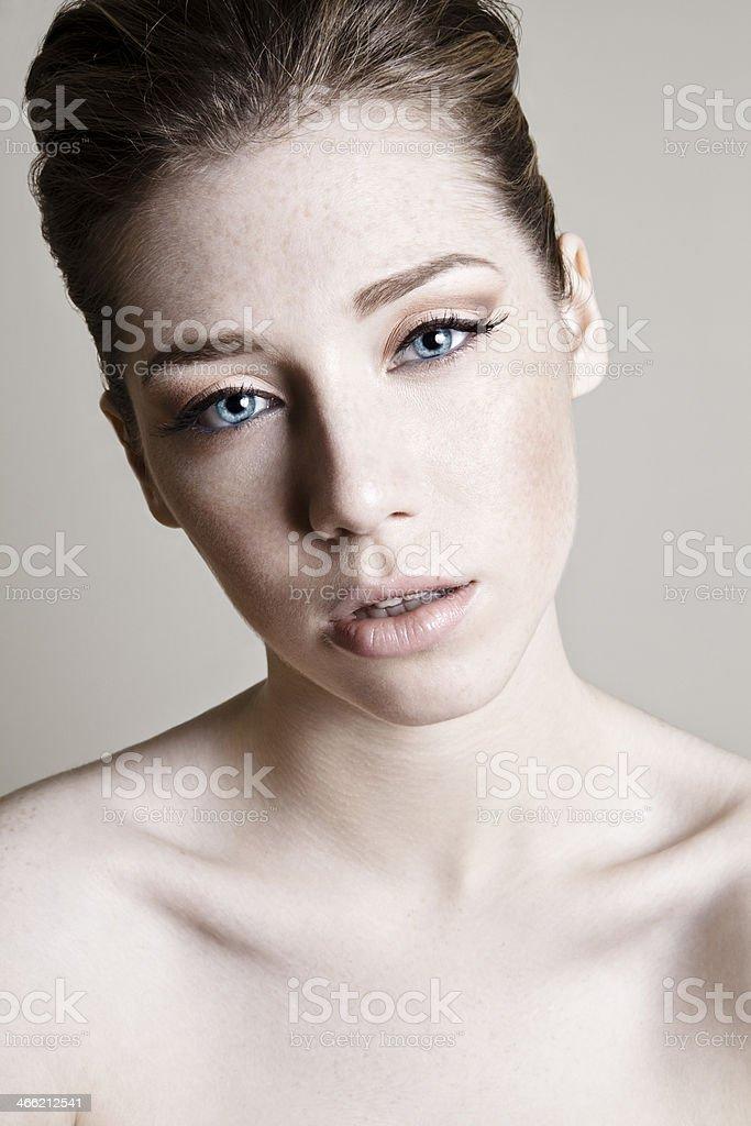 Sexy Redhead royalty-free stock photo