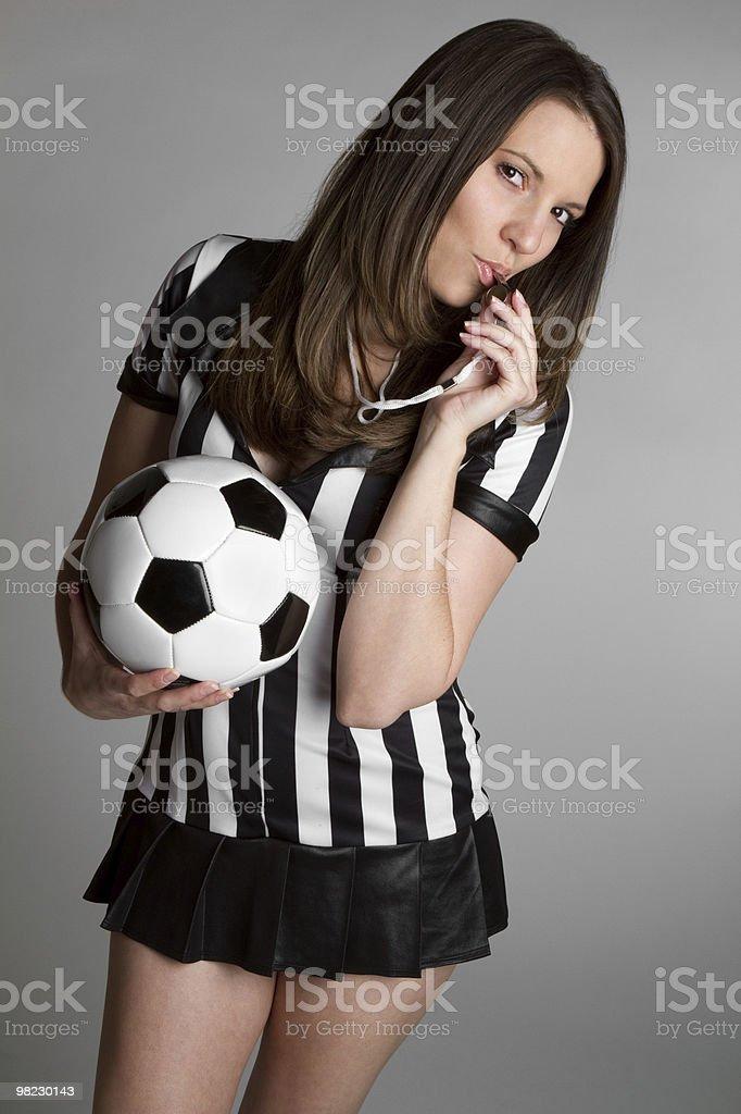Sexy Referee royalty-free stock photo
