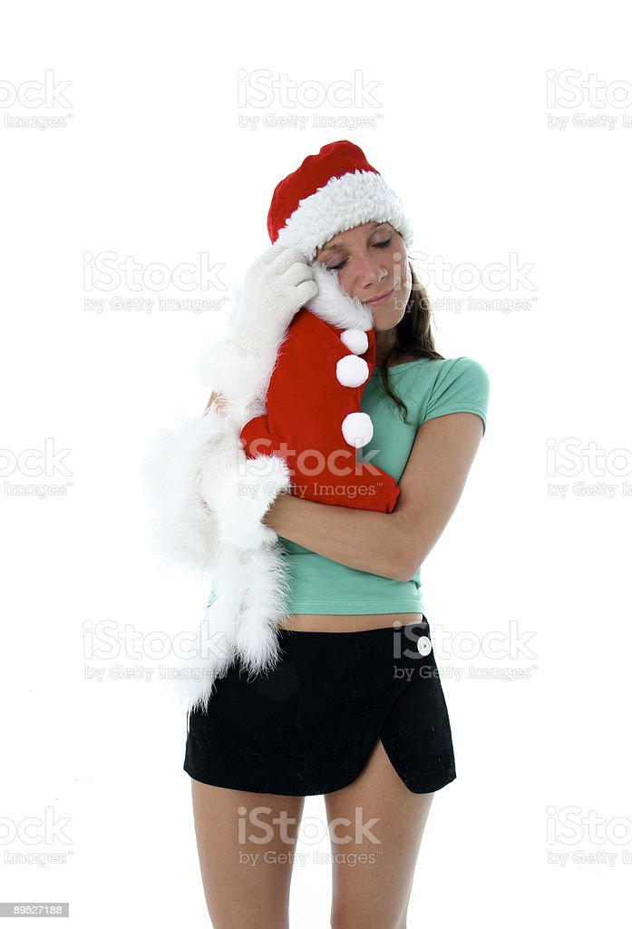 Sexy Santa royalty-free stock photo