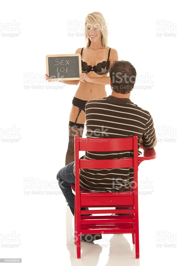 Sexy Sex Ed Teacher With Student Stock Photo  More Pictures Of Adult  Istock-1347