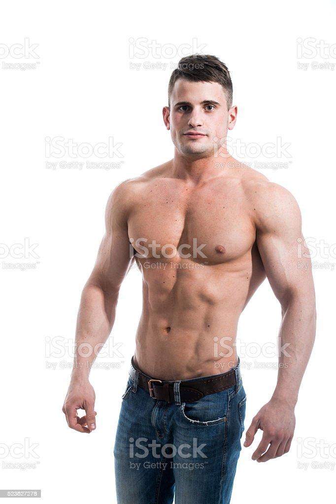 Улыбка у сексуальных мужчин